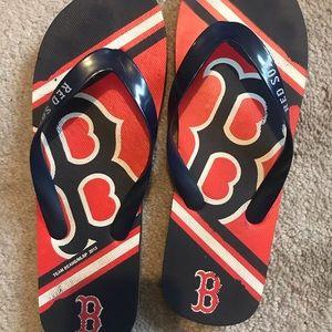 Shoes - Boston Red Sox Flip Flops